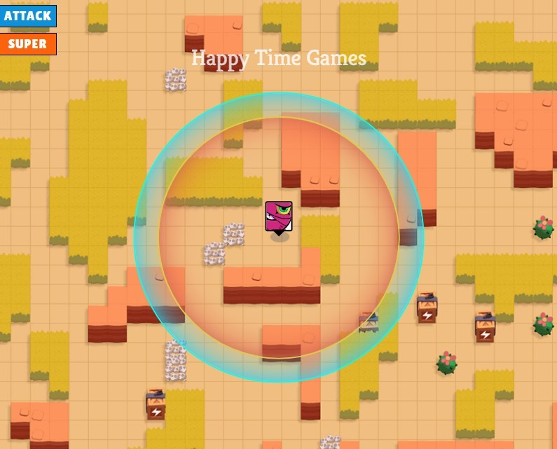 Tara Brawl Stars Range Map