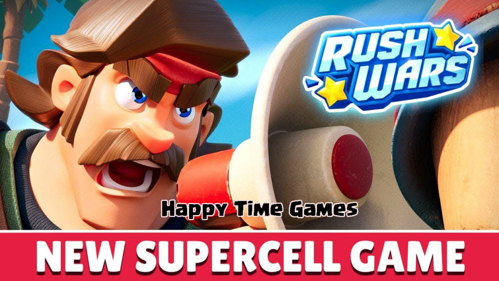 Rush Wars - New Supercell Game!! Everything You Need to Know!