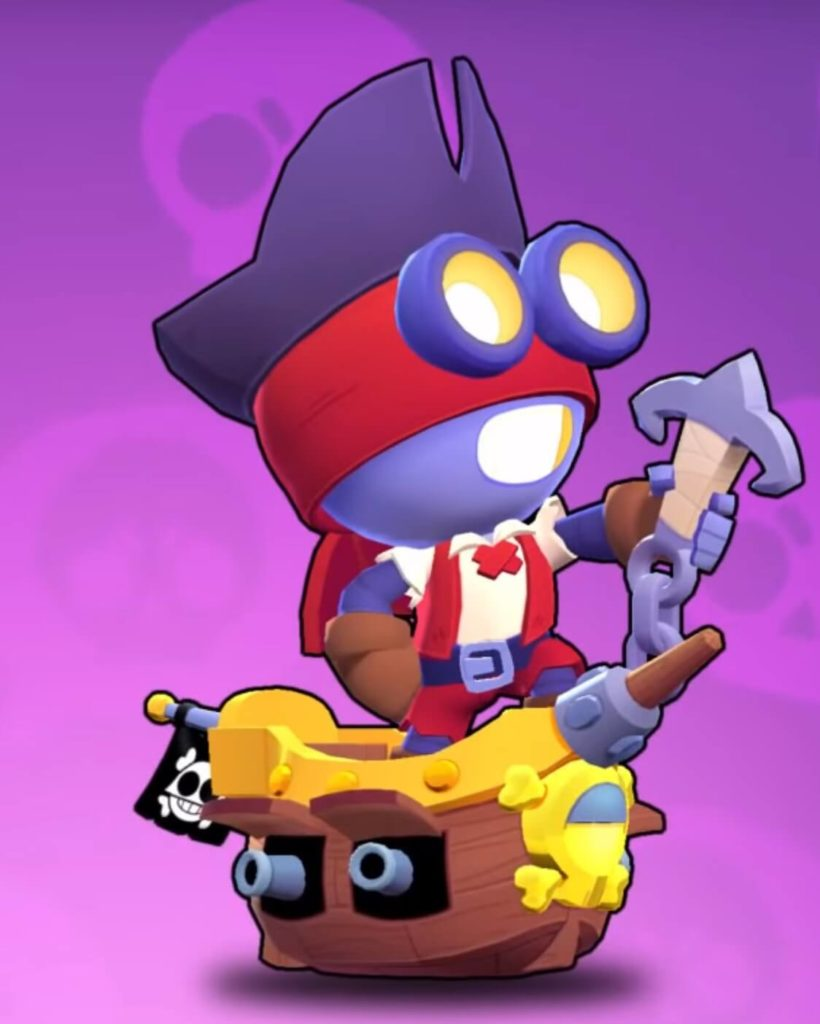 Captain Carl Brawl Stars December 2019 update